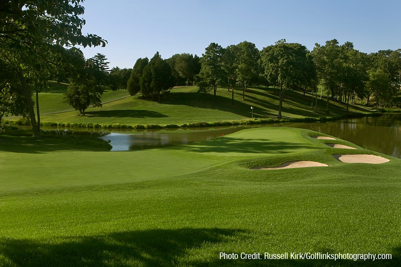 Congressional Country Club Blue Course Rees Jones Inc Golf Course Design