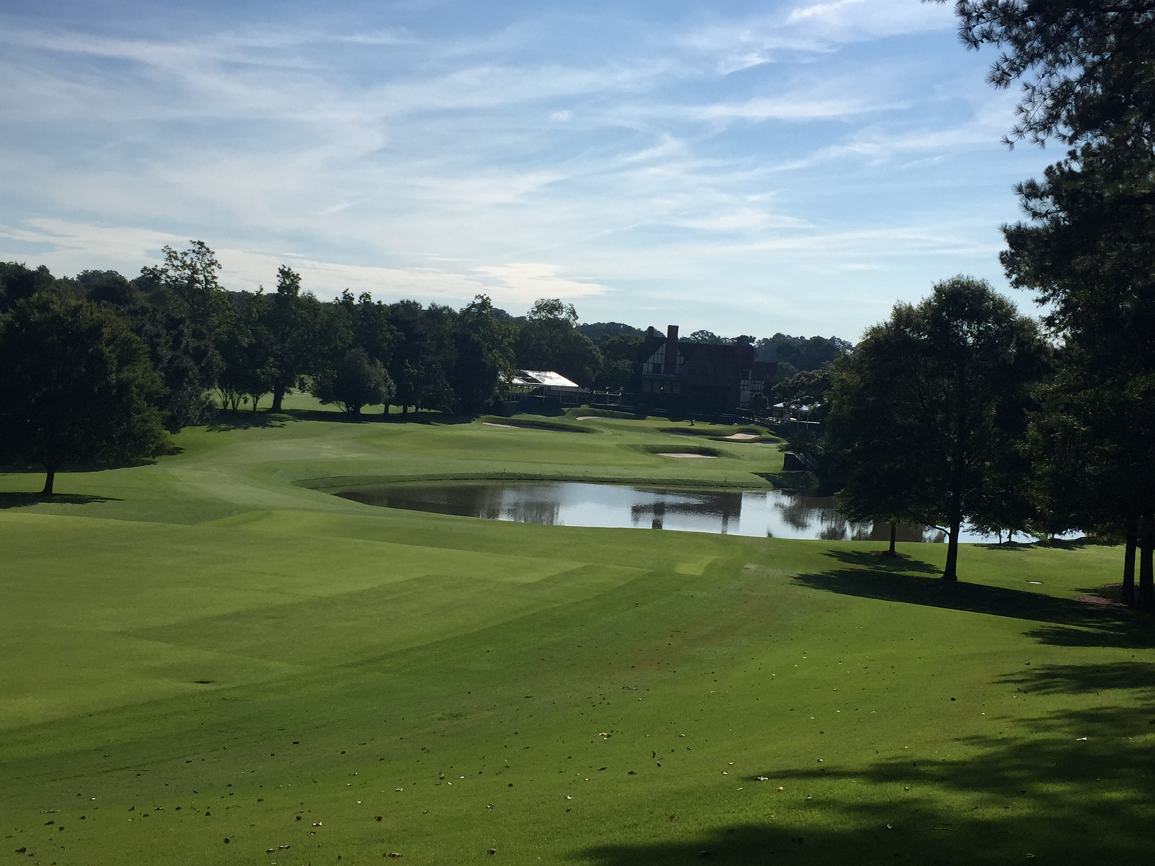 east lake golf club minor alterations at east lake ahead of 2016 tour championship. Black Bedroom Furniture Sets. Home Design Ideas