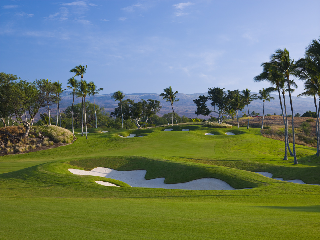 Enjoy a round of golf on one of Hawaiis most beautiful golf courses at the Mauna Kea Beach Hotel Designed by Robert Trent Jones this Big Island of Hawaii golf