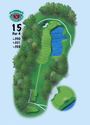 Medinah Course No. 3 - 15th Hole